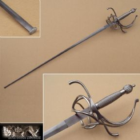"Practical Rapier, With 37"" Blade"